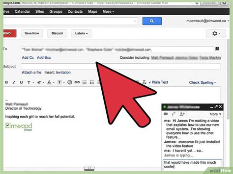 In Gmail chatten – wikiHow