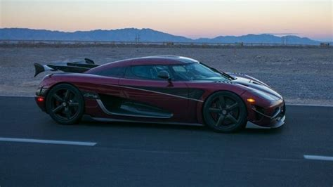 The 278 mph Koenigsegg Agera RS is the new world's fastest