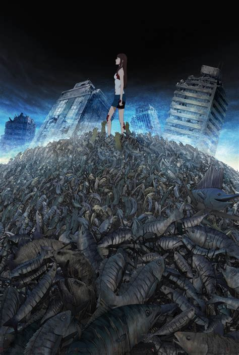 Trailer and poster for Junji Ito's Gyo released