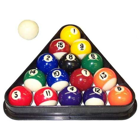 Accessories: How To Rack Pool Balls To Organize Billiard