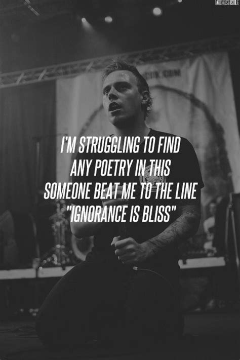 Architects - These Colours Don't Run   Band quotes