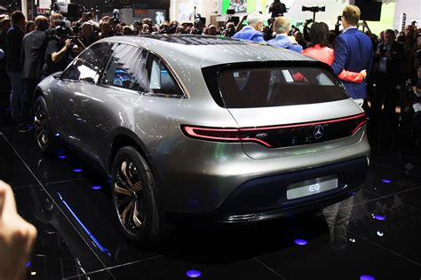 Mercedes-Benz Generation EQ revealed: Electric SUV debuts