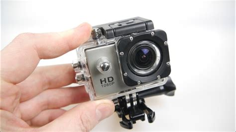 SJ4000 HD Action Camera Review - All the mounts - half the