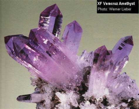 Different types of crystals