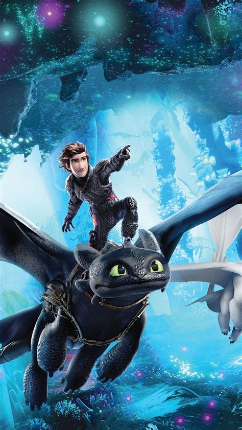 Wallpaper How to Train Your Dragon 3, How to Train Your
