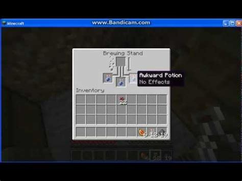 Minecraft - How To Make A Splash Potion Of Instant Healing