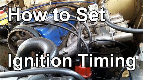 How To Set Ignition Timing / Ignition Timing Explained