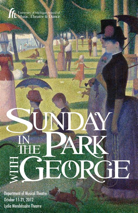 Sunday in the Park with George   U-M School of Music