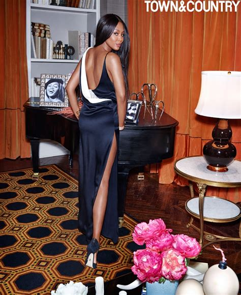 Naomi Campbell Town & Country Magazine March 2017