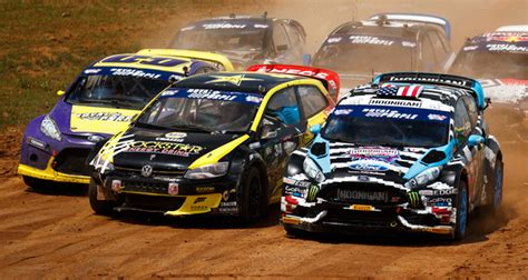 Red Bull Global Rallycross Had A Giant Wreck and is No