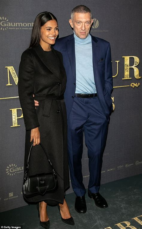 Vincent Cassel, 52, and wife Tina Kunakey, 21, CONFIRM
