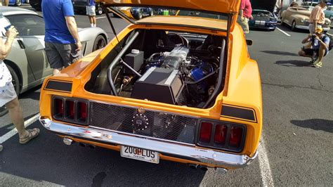 Mid-Engined 1960s Ford Mustang Mach 1 Has Ford GT Engine