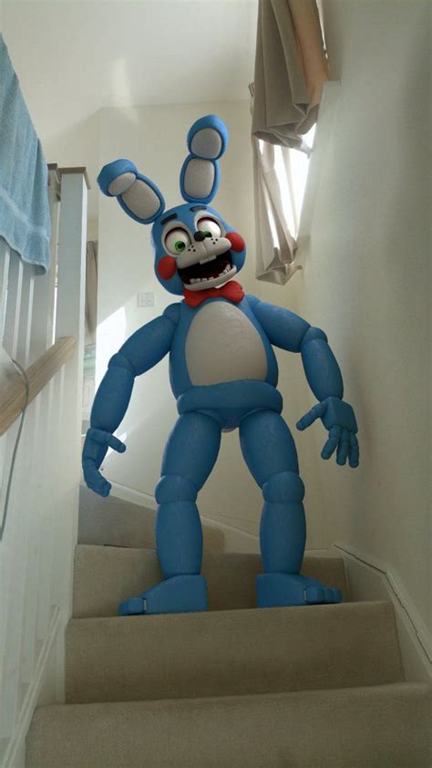 Toy Bonnie in REAL LIFE!! by easter-bonnie on DeviantArt