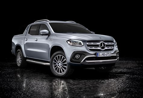 Mercedes-Benz X 350 d unveiled, most powerful diesel in