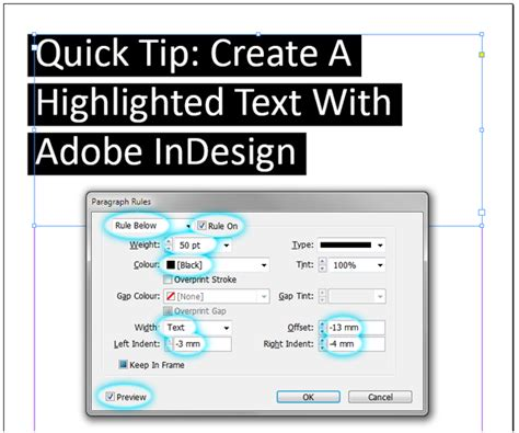 Quick Tip: Create a Highlighted Text Effect With Adobe